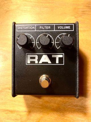Pedal de distorsión para guitarra RAT
