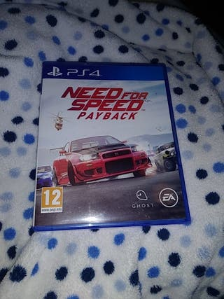 Juegos PS4 need for speed payback