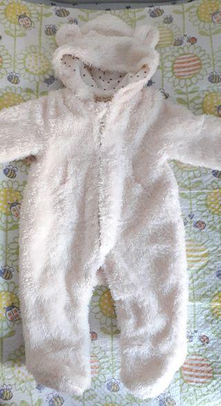Mono-buzo bebe Zara mini 0-1 mes