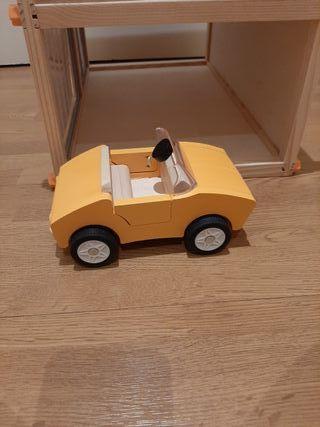 casa de madera muñecas