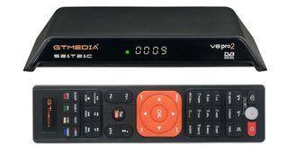 Decodificador/Sintonizador satélite y TDT HD.