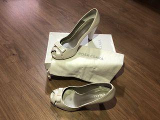 Zapatos de novia Rosa Clará 38