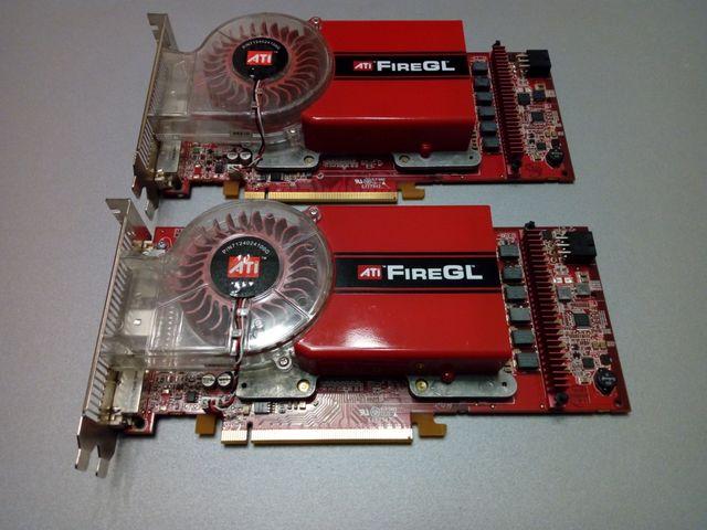 Ati FireGl 7200 256 mb pcie