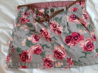 Minifalda niña 6-7 años