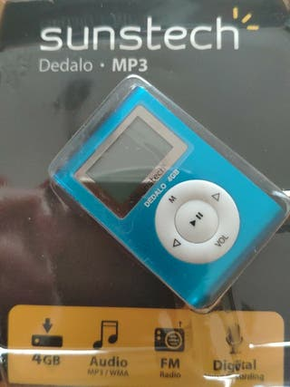 Reproductor MP3 Sunstech nuevo a estrenar