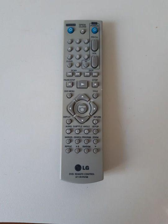 Mando a distancia DVD marca LG mod 671R1P070B