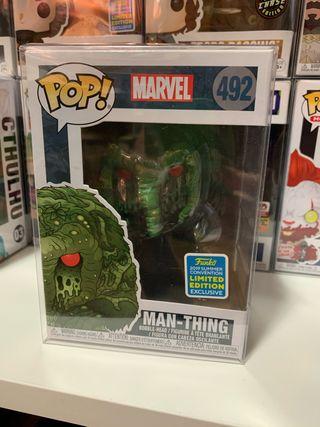 Figura funko pop la cosa del pantano DC cómics