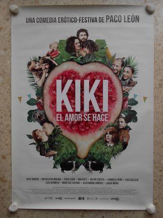 Kiki, el amor se hace.aprox 70x100 Cartel original