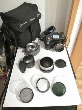 HP 945 cámara de fotos + ópticas + filtros