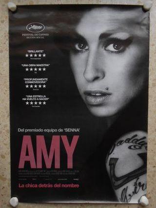 Amy, la chica detrás del nombre. aprox 70x100.