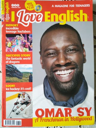 "8 REVISTAS ""I love English"" para adolescentes"