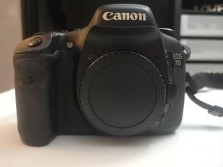Camara Canon 7D + 50mm + Adaptador CF SD