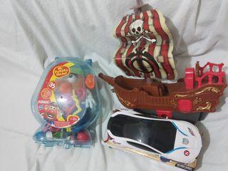 juguetes niñ@s,mr.patato barco,coche transformer