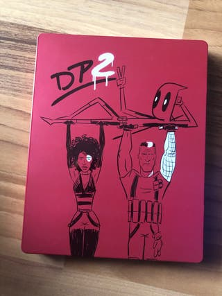 Deadpool 2 bluray steelbook edicion supergrande