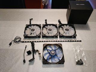 Ventiladores RGB PC + LED