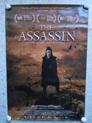 The assassin. aprox 70x100 Cartel original.