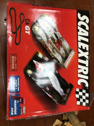 SCALEXTRIC C4-GT + PACK AMPLIACIÓN OFFROAD