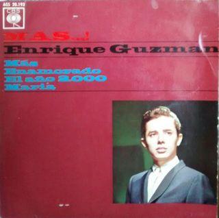 Enrique Guzmán. Single 4 temas. Enamorado, Más...