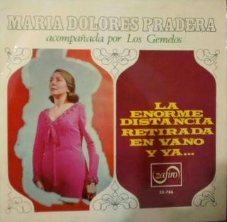 María Dolores Pradera y Los Gemelos. Single 4 tema