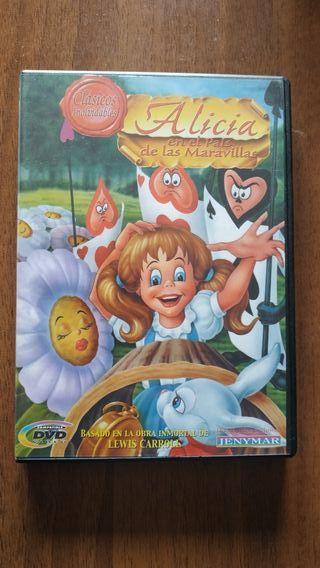 Alicia en el país de las Maravillas - película DVD