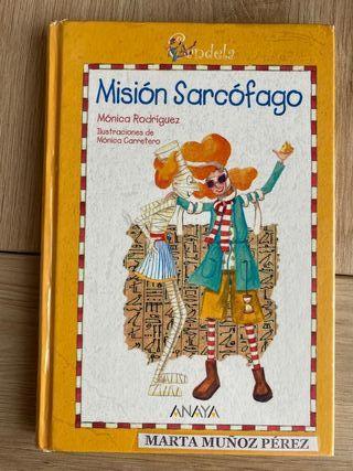 Libro Misión Sarcófago