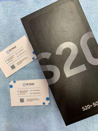 Samsung s20+ 5G 128GB cósmic gray precintado