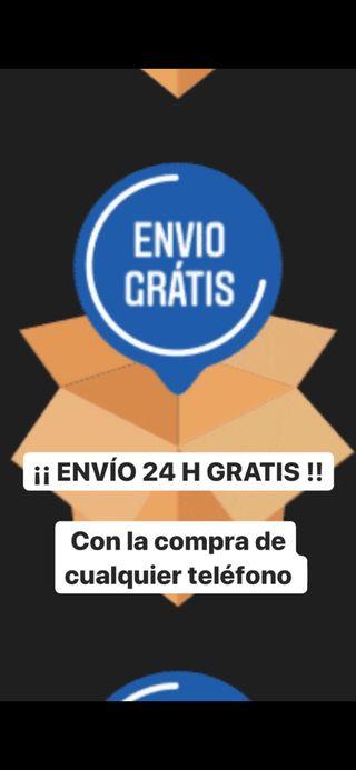 ENVÍO GRATIS 24H CON TU MÓVIL IPHONE SAMSUNG