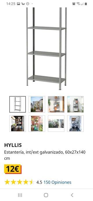 Estanteria metálica IKEA