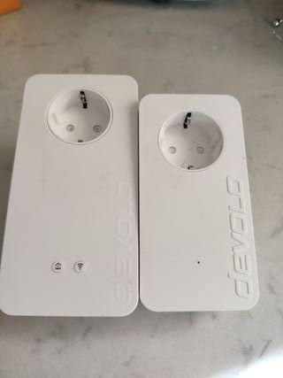 Kit de 2 adaptadores PLC - Devolo dLAN 1200+ WiFi