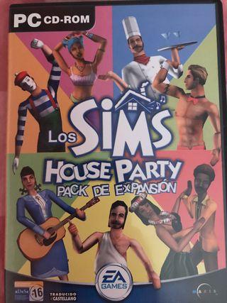Juego para PC los sims house party