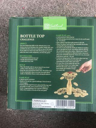 Bottle top challenge
