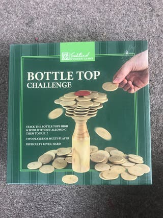 Bottle top challenge
