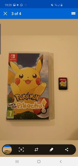 Nintendo switch Let's go Pikachu