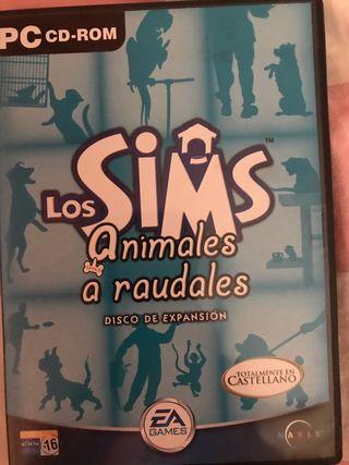Juego para PC los sims animales a raudales