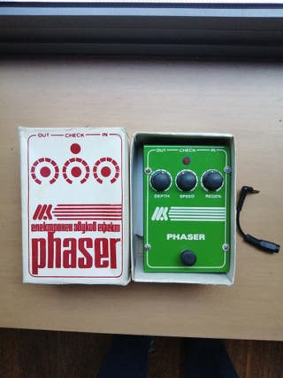 Pedal de Guitarra phaser retro