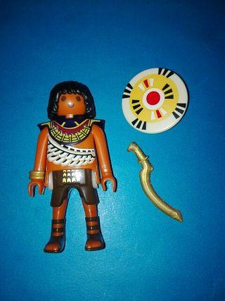 playmobil egipcio egipto soldado guerrero belen