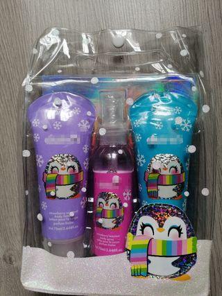 pack loción, perfume y gel de ducha
