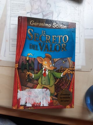 LIBRO GERONIMO STILTON EL SECRETO DEL VALOR