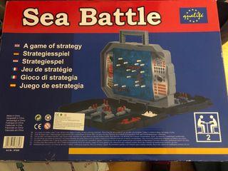 Juego guerra de barcos