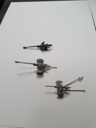 1:72 lote de cañones alemanes