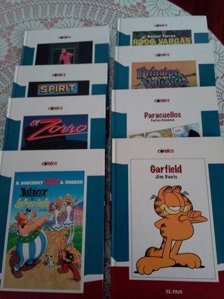 Coleccion de comics variados