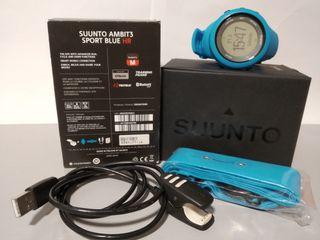 Reloj deportivo Suunto Ambit3 Sport HR color azul.