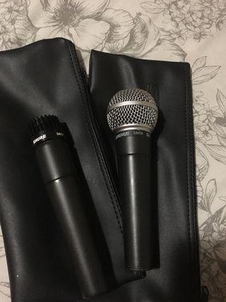 Microfonos shure originales