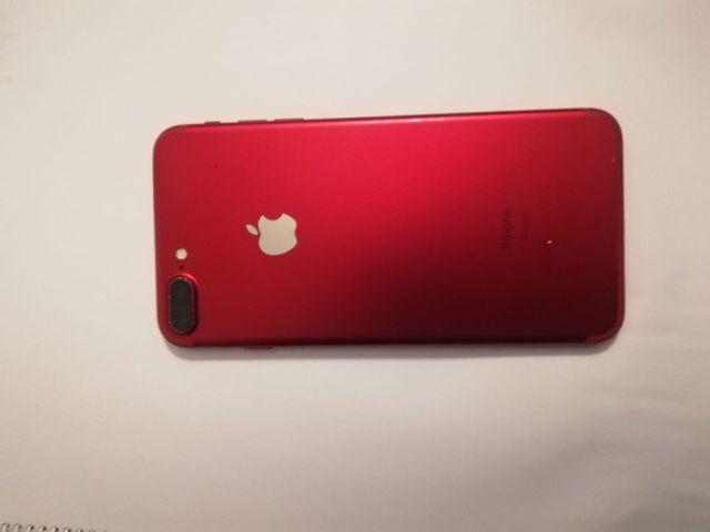 Iphone 7 plus 128Gb Modelo RED