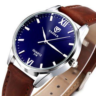 reloj hombre pulsera piel color negro o marron