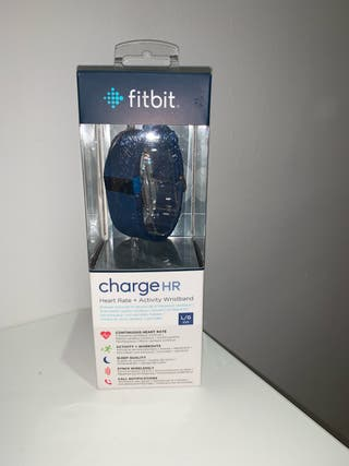 Fitbit charge HR. Azul