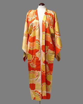 kimono / naga juban vintage japonés años 20