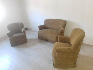 conjunto sofás 4 plazas