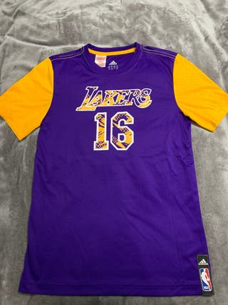 Camiseta adidas original Paul Gasol de los Lakers