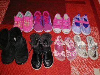 lote de zapatos de niña n29